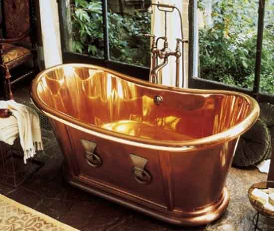 8. Archeo Copper Bathtub-$67,557