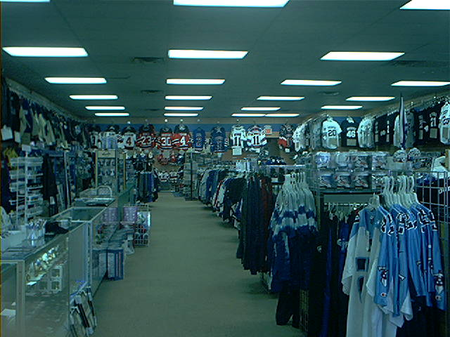 Sport clothing store
