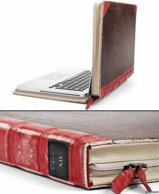 Macbook With Book Like Cover-10