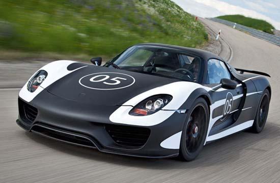 8. Porsche 918 Hybrid